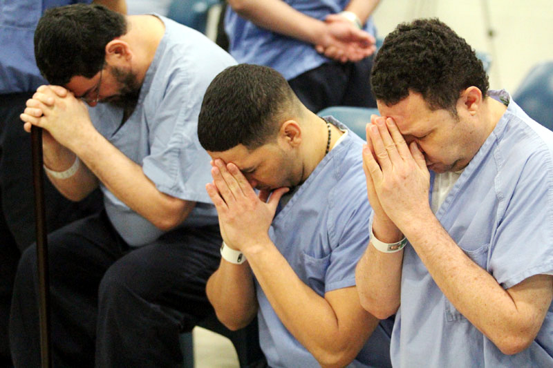 Prison inmates at Curran-Fromhold Correctional Facility in Philadelphia will share a visit by Pope Francis on Sunday, Sept. 27. (Sarah Webb)