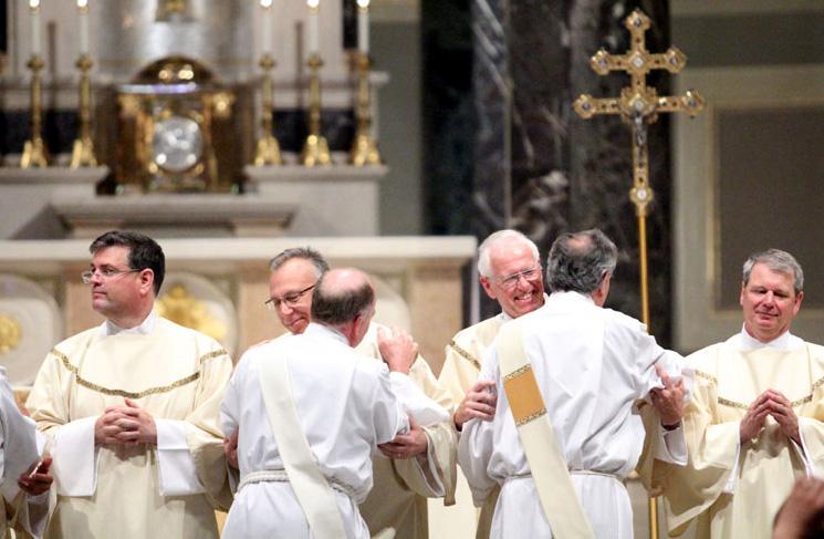 Joseph P. McGonigal, Gregory J. Maskarinec, Gerard J. McPhillips, David J. Kolesky- fraternal kiss