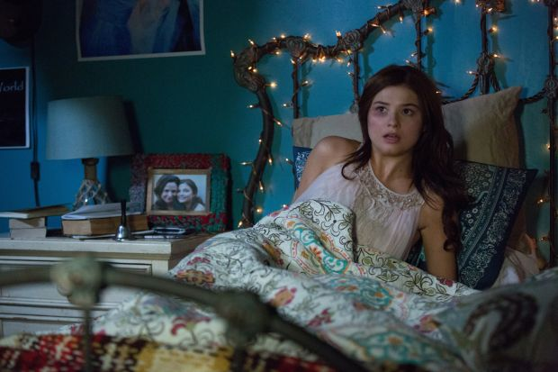 "Stefanie Scott stars in a scene from the movie ""Insidious: Chapter 3."" (CNS photo/Focus)"