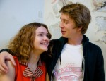 """Olivia Cooke and Thomas Mann star in a scene from the movie """"Me and Earl and the Dying Girl.""""  (CNS photo/Fox Searchlight)"""