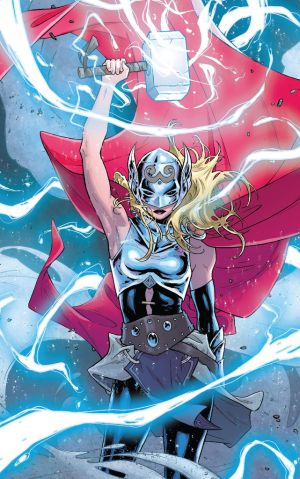 "This is an image from the comic book ""Thor."" (CNS photo/Marvel)"