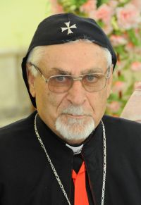 Syriac Catholic Archbishop Yohanna Moshe of Mosul, Iraq, is pictured in a 2011 photo. (CNS photo/courtesy Aid to the Church in Need)