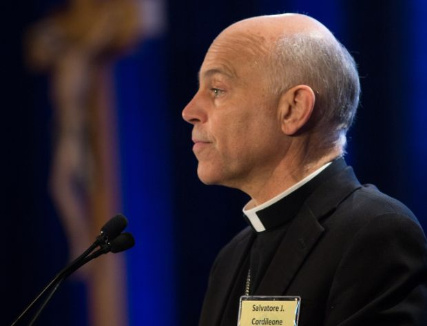 San Francisco Archbishop Salvatore J. Cordileone speaks June 10 during the spring general assembly of the U.S. Conference of Catholic Bishops in St. Louis. (CNS photo/Lisa Johnston, St. Louis Review)