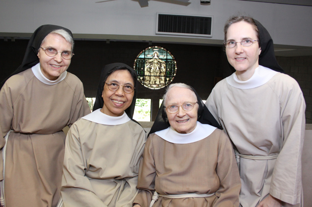 sisters of the Monastery of St. Clare, Langhorne (Sarah Webb file photo)