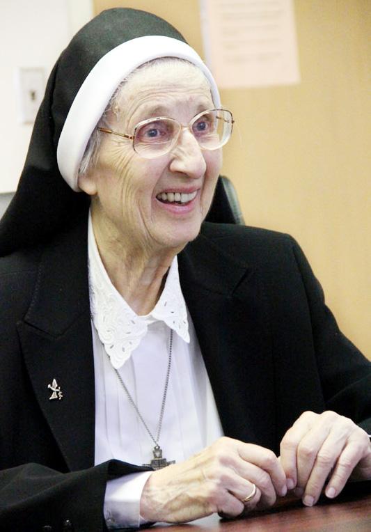 Sister Mary Cecilia Jurasinski, O.S.B.M. (Sarah Webb)