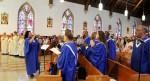 choir led by Mary Lopez