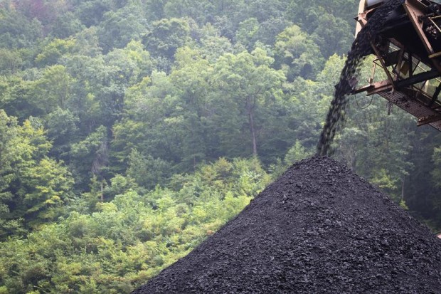 Coal is processed near Whitesville, W. Va., in this 2014 file photo. (CNS photo/Tyler Orsburn)