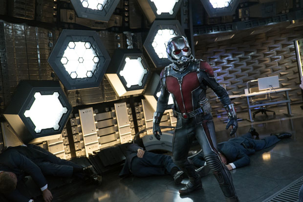 "Paul Rudd stars in a scene from the movie ""Ant-Man."" The Catholic News Service classification, A-II -- adults and adolescents. Motion Picture Association of America rating, PG-13 -- parents strongly cautioned. Some material may be inappropriate for children under 13.(CNS photo/Disney)"