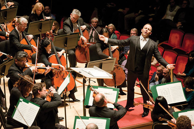 Yannick Nézet-Séguin leads the Philadelphia Orchestra, which will perform at the Festival of Families Sept. 26 and for the papal Mass the following day on the Benjamin Franklin Parkway in Philadelphia.