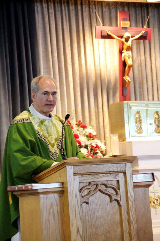 new installed Fr. Jason Kulczynski