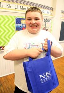 NHS student Joey Marcinkiewicz