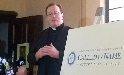 Father Stephen DeLacy, director of the Vocation Office for Diocesan Priesthood, describes the Called by Name initiative launching in all parishes of the Archdiocese of Philadelphia this fall, which will invite young men to consider a religious vocation.