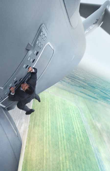 "Tom Cruise stars in a scene from the movie ""Mission Impossible: Rogue Nation."" (CNS photo/Paramount)"