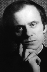 Blessed Jerzy Popieluszko, a Polish priest who was murdered by communist police agents in 1984, is pictured in an undated file photo. The secret police killers of Blessed Popieluszko, whose bound and gagged body was dredged from the Vistula River, were granted amnesty and released early, while repeated attempts have since failed to prosecute their top-level accomplices. (CNS file photo)