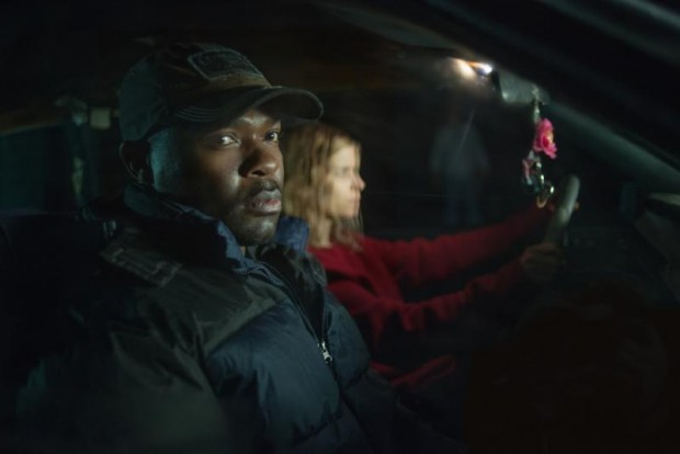 "David Oyelowo and Kate Mara star in a scene from the movie ""Captive."" (CNS photo/Paramount Pictures)"