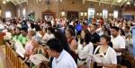 Hispanic Catholics in the Archdiocese of Philadelphia celebrated the 10th annual Hispanic Heritage Mass Aug. 19 at Holy Innocents Church, Philadelphia. (Sarah Webb)
