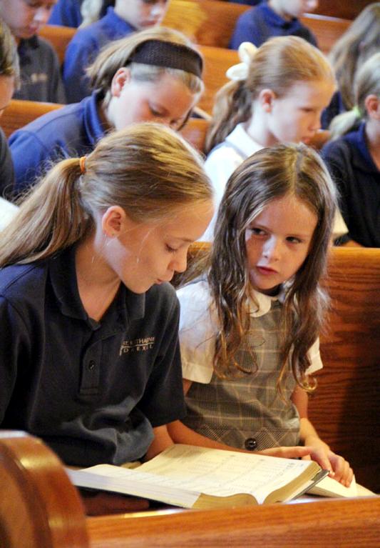 Abby McGrody and Kaitlyn Holloran 4th grade