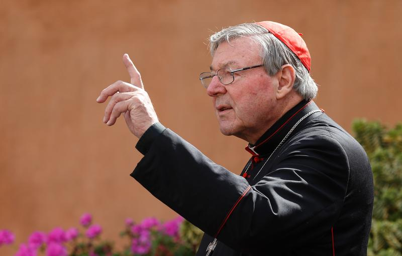 File photo of Cardinal George Pell. (CNS photo/Paul Haring)