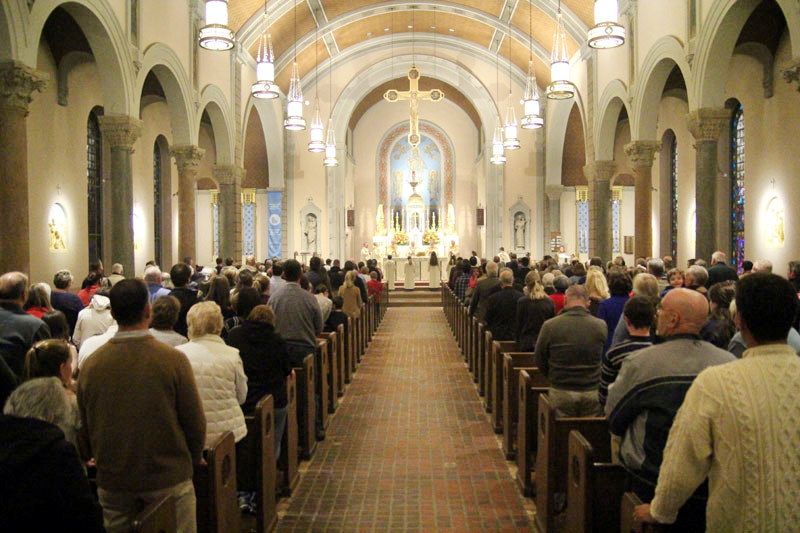 Scenes From A Parish S Major Milestone Catholic Philly
