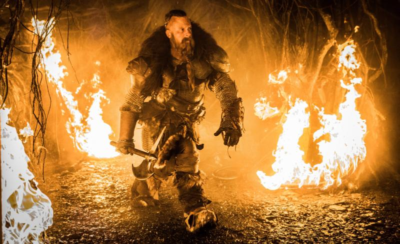 "Vin Diesel stars in a scene from the movie ""The Last Witch Hunter."" (CNS photo/Lionsgate)"