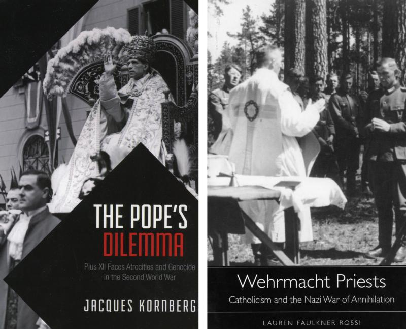 Covers of books on World War II