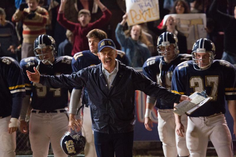 "C. Thomas Howell stars in a scene from the movie ""Woodlawn."" (CNS photo/Pure Flix)"