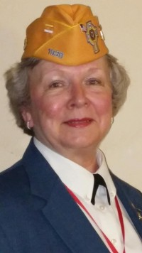 Mrs. Arminda C. Crawford, newly installed National Commander of the Catholic War Veterans of the United States of America.