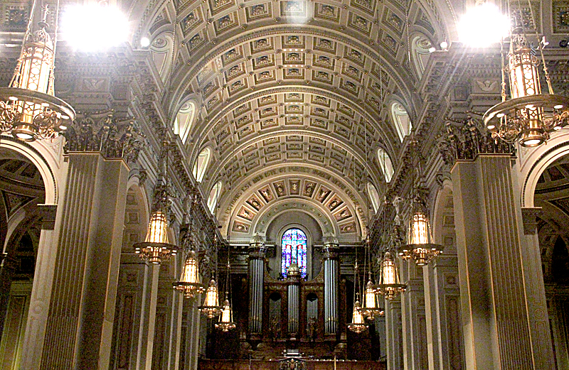 Sounds as good as it looks choral concerts showcase for Coffered cathedral ceiling