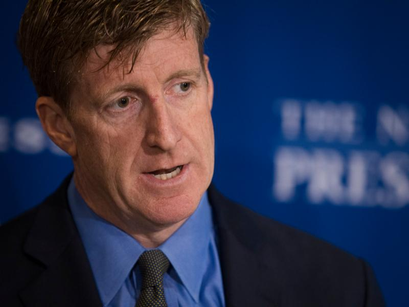 Former U.S. Rep. Patrick Kennedy, D-Rhode Island, discusses what he says are inequities in health care for people with mental illnesses Nov. 5 in Washington. (CNS photo/Tyler Orsburn)