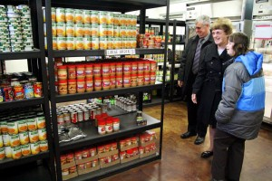 Guests get a chance to see what Martha's Choice Marketplace has to offer.
