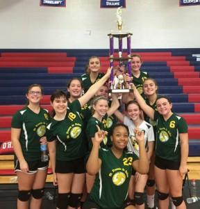 SFDS volleyball Varsity