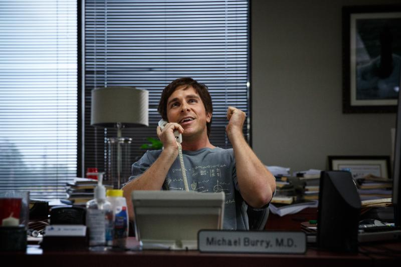 "Christian Bale stars in a scene from the movie ""The Big Short."" The Catholic News Service classification is A-III -- adults. The Motion Picture Association of America rating is R -- restricted. Under 17 requires accompanying parent or adult guardian. (CNS photo/Paramount)"
