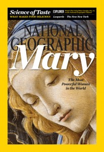 This is the cover of the December 2015 issue of National Geographic magazine. (CNS photo/National Geographic) See GEOGRAPHIC-MAGAZINE-MARY Nov. 25, 2015.