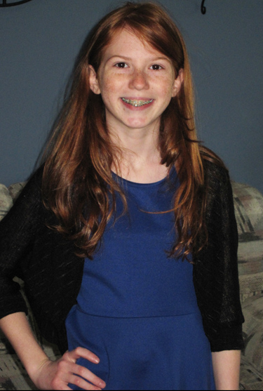 Ciara Dubek is an eighth grader at Our Lady of Calvary School in Northeast Philadelphia.