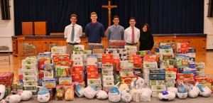 Devon Prep food drive