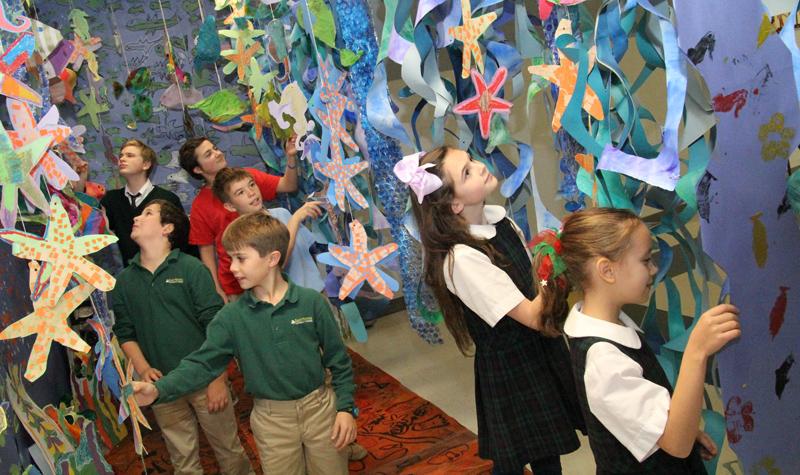 St Patrick School art