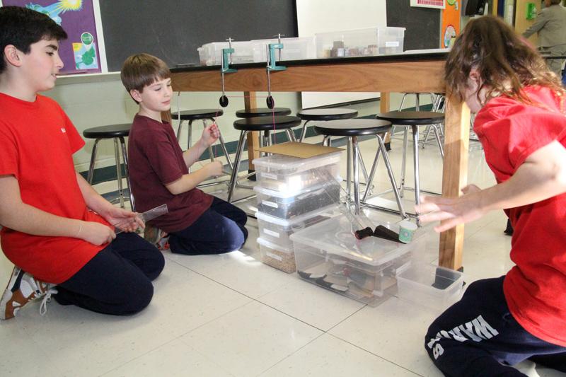 St Patrick School experiment