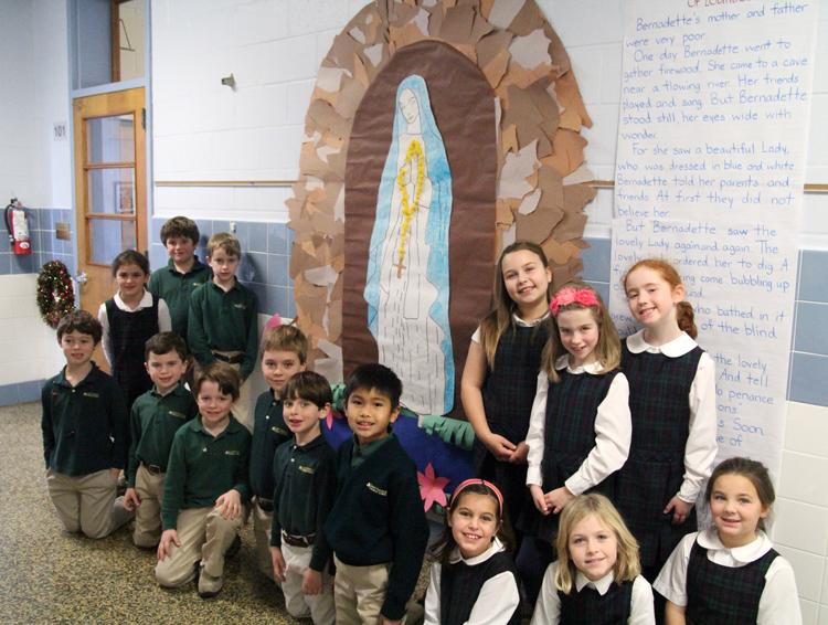 St Patrick School hallway2