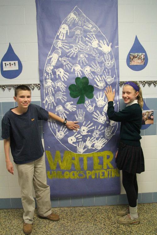 St Patrick School hands