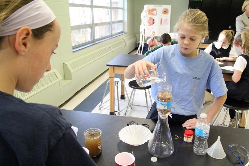 St Patrick School lab 2