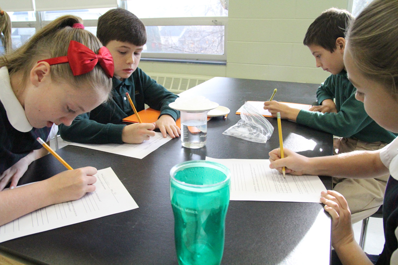 St Patrick School lab 4 write