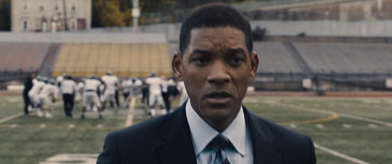 "Will Smith stars in a scene from the movie ""Concussion."" The Catholic News Service classification is A-III -- adults. The Motion Picture Association of America rating is PG-13 -- parents strongly cautioned. Some material may be inappropriate for children under 13. (CNS photo/Columbia Pictures)"