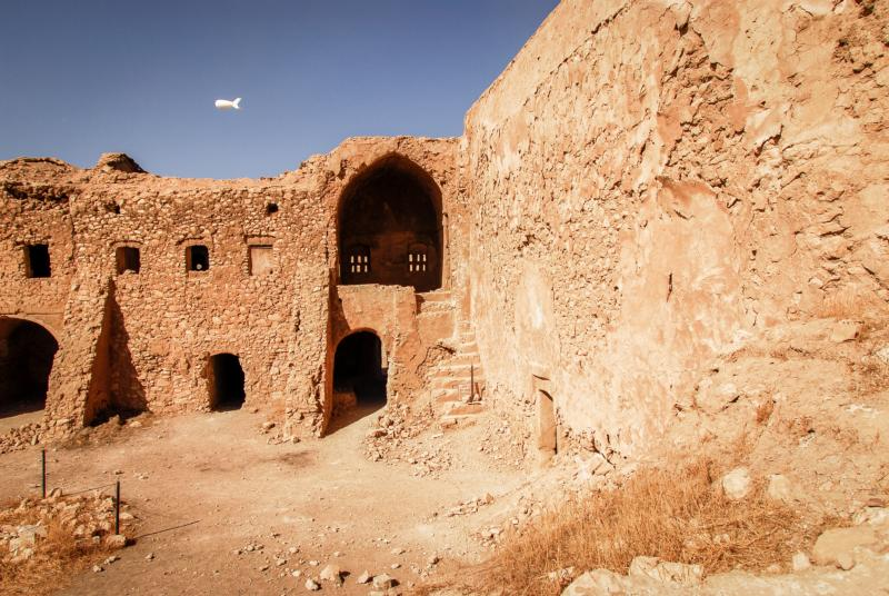 This 2009 photo shows the remains of St. Elijah Monastery in Mosul, Iraq. Islamic State militants claimed responsibility for the recent destruction of Iraq's oldest Christian monastery after a preservation effort was mounted to save the 1,400-year-old site. (CNS photo/courtesy Father Jeffrey Whorton)