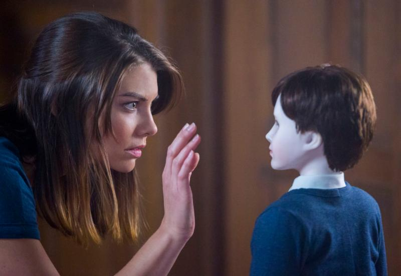 "Lauren Cohan stars in a scene from the movie ""The Boy."" (CNS photo/STX Productions)"