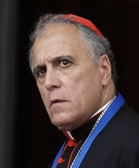 Cardinal Daniel N. DiNardo of Galveston-Houston, appears in this Oct. 14, 2015, file photo. (CNS photo/Paul Haring)