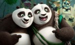 "Po, voiced by Jack Black, and  Li, voiced by Bryan Cranston, appear in the animated movie ""Kung Fu Panda 3."" (CNS photo/DreamWorks)"