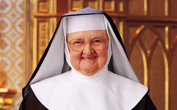 Mother Angelica, who spearheaded the founding of the Eternal Word Television Network, is pictured in an undated photo. (CNS photo/courtesy EWTN)