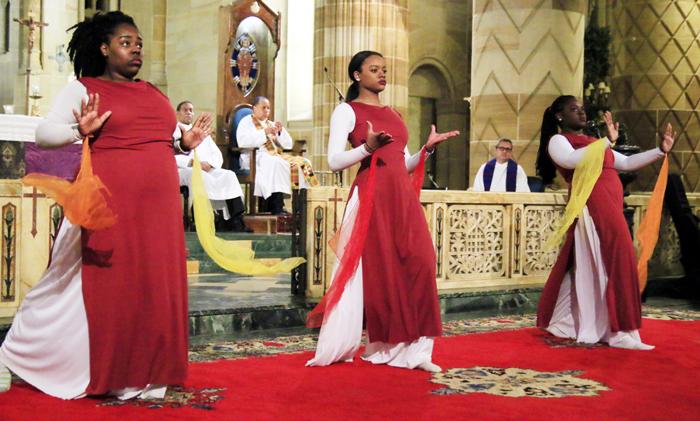The Cristo Rey Dancers