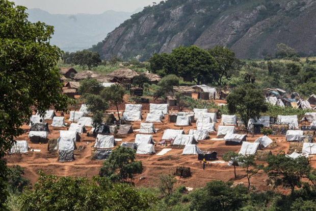 A view of one to the residential areas in the refugee camp in Mwanza, Malawi, Feb. 8. (CNS photo/Erico Waga, EPA)