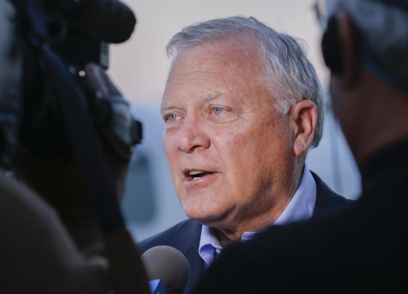 Georgia Gov. Nathan Deal is seen in Atlanta in this 2014 file photo. (CNS photo/Erik S. Lesser, EPA)